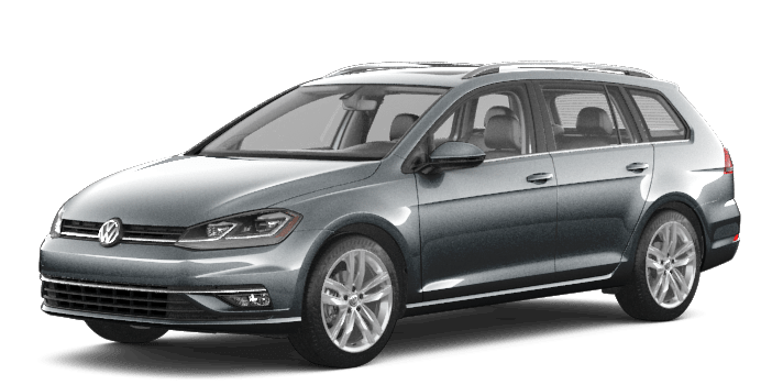 Grey 2019 VW Golf SportWagen Execline