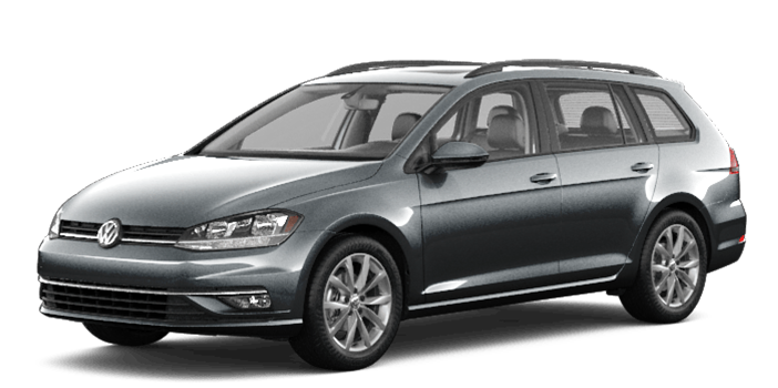 Grey 2019 VW Golf SportWagen Highline