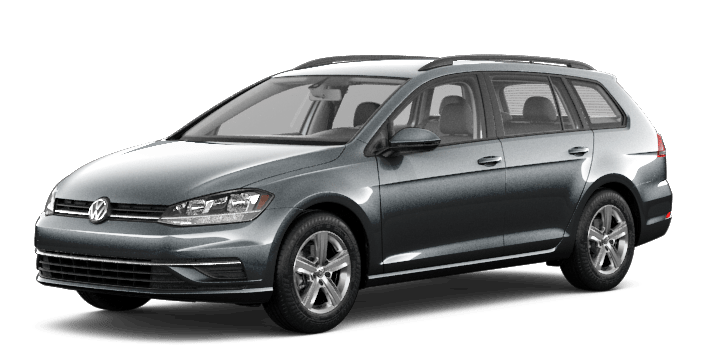 Grey 2019 VW Golf SportWagen