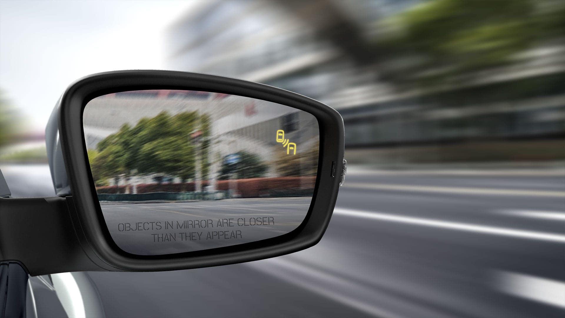 2019 VW Beetle blind spot detection