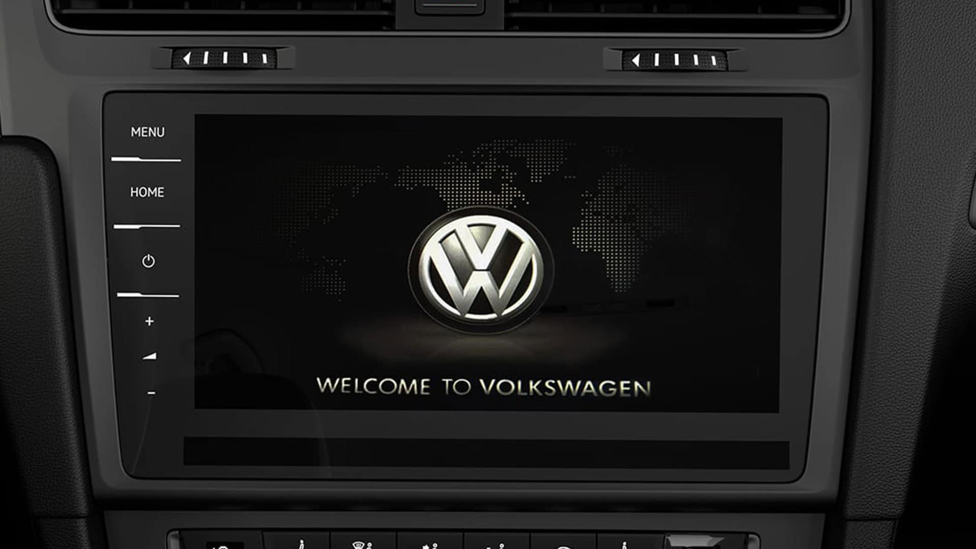 2019 VW e-Golf discovery pro display
