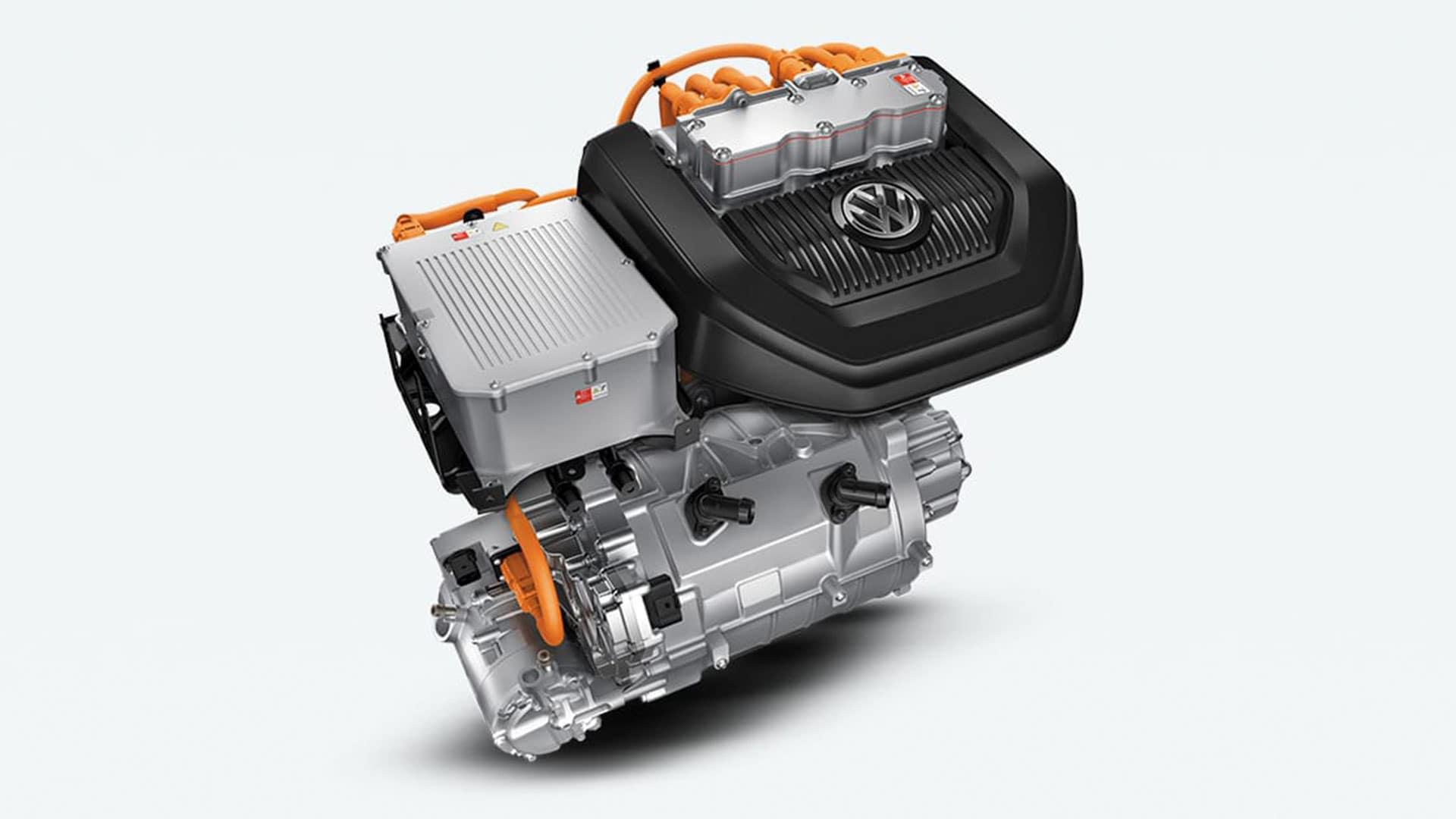 2019 VW e-Golf electric engine