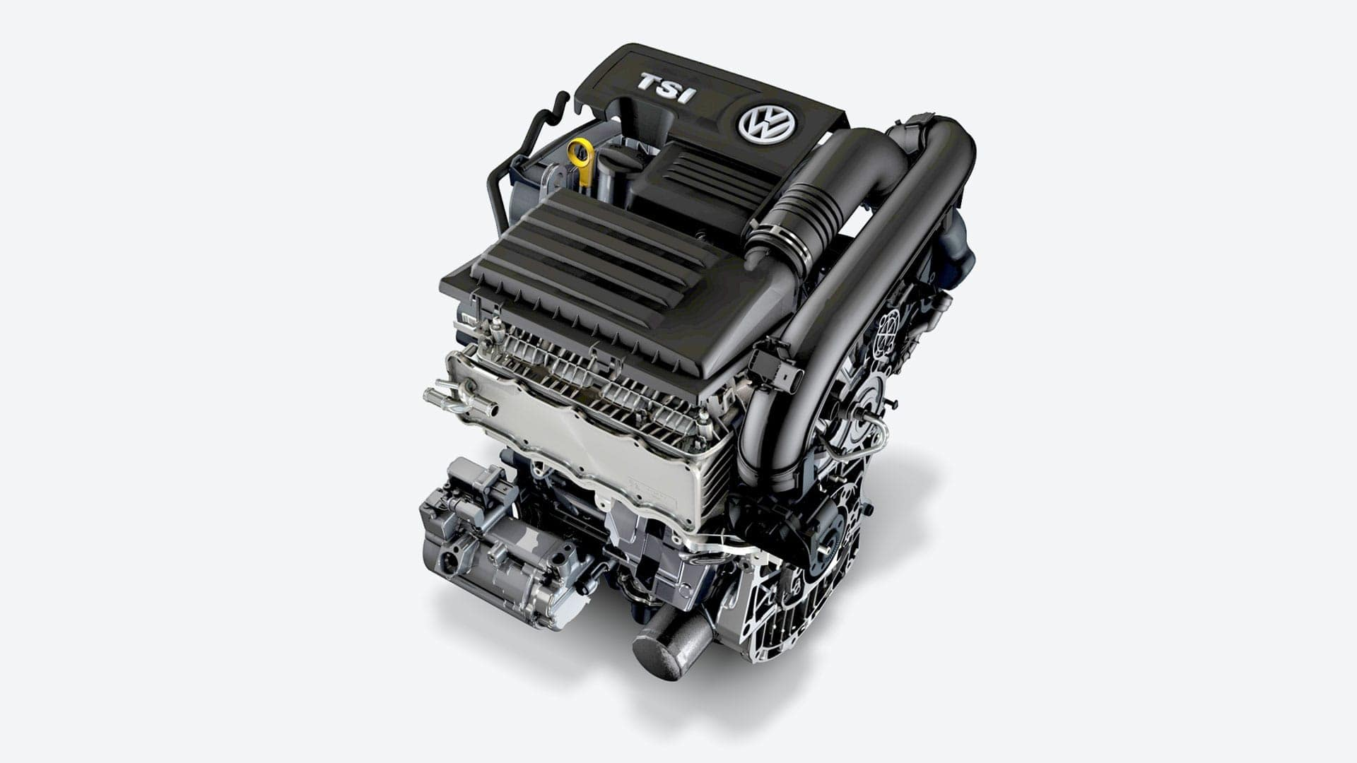 2019 VW Golf feature engine