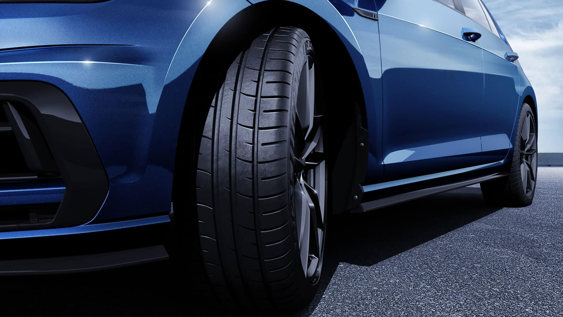 2019 VW Golf R summer tires