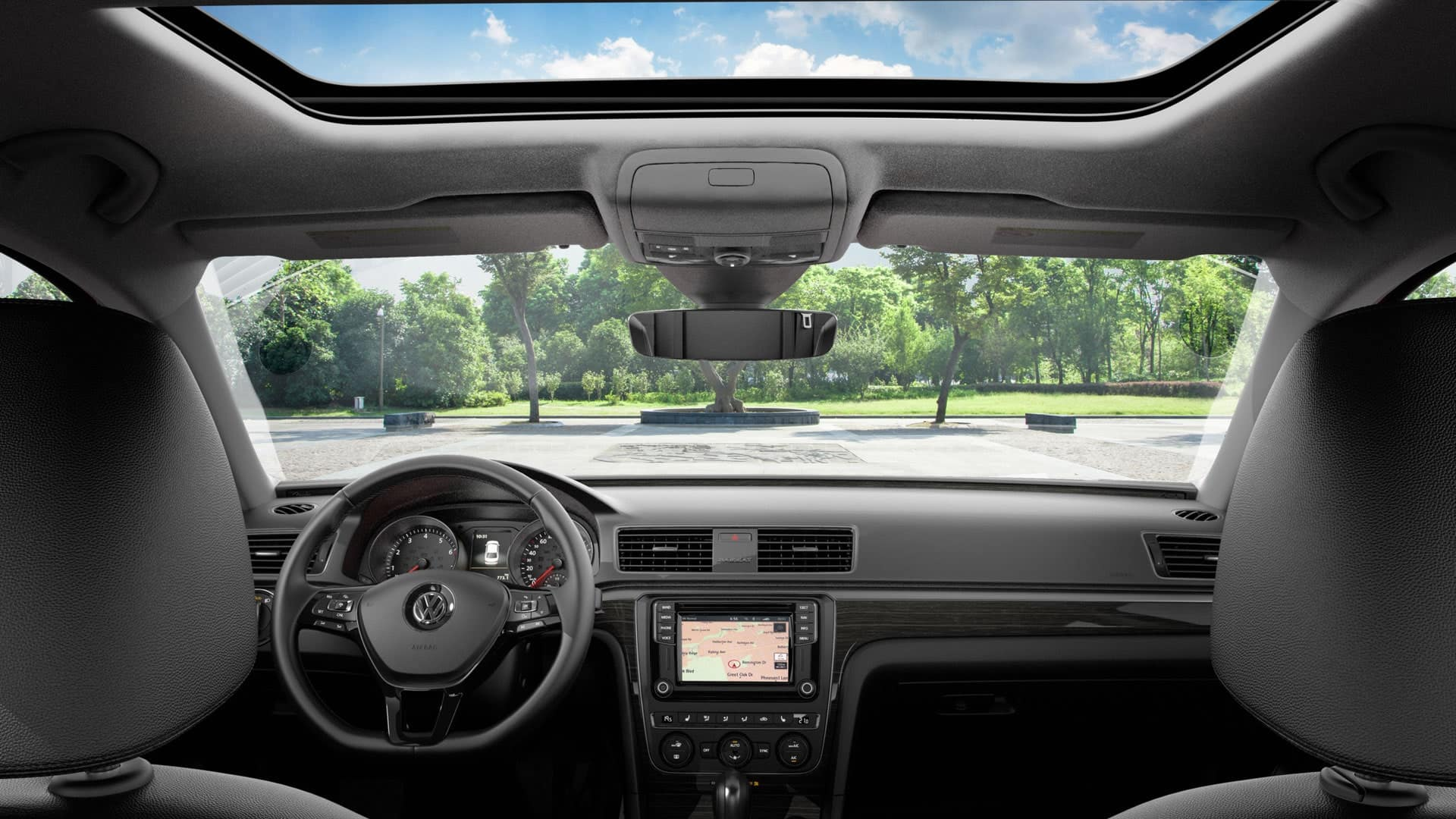 2019 VW Passat sunroof and navigation