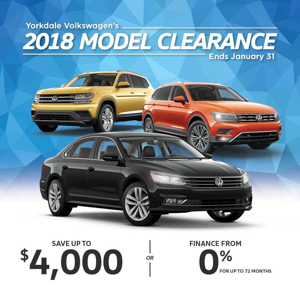 2018 Model Clearance Event