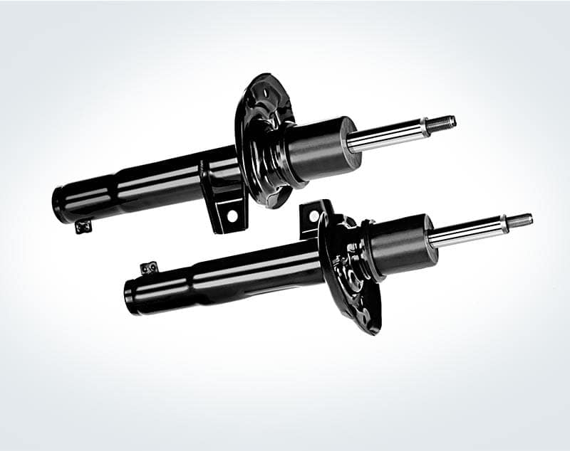 A pair of Volkswagen shock absorbers