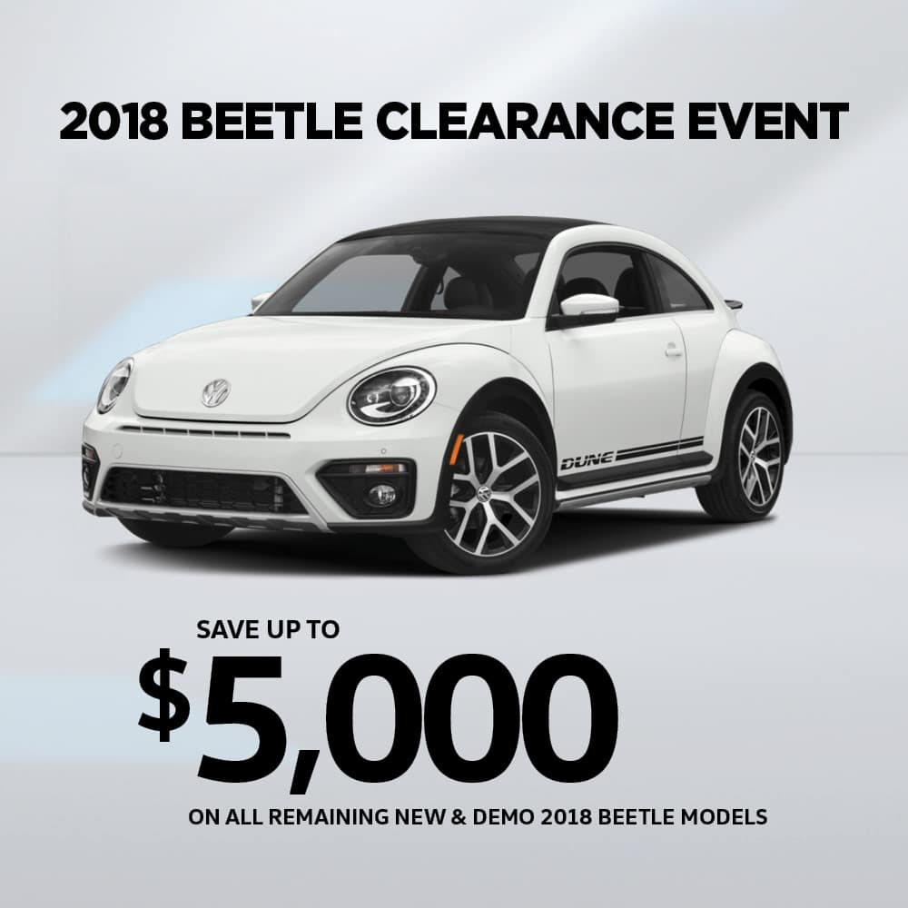 2018 Beetle Special