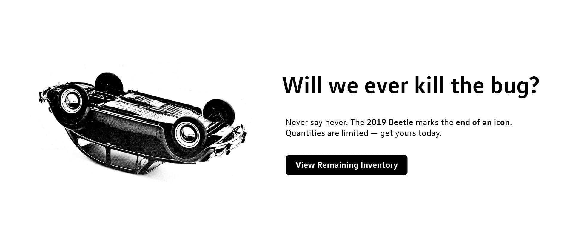 Bye Bye Beetle Banner