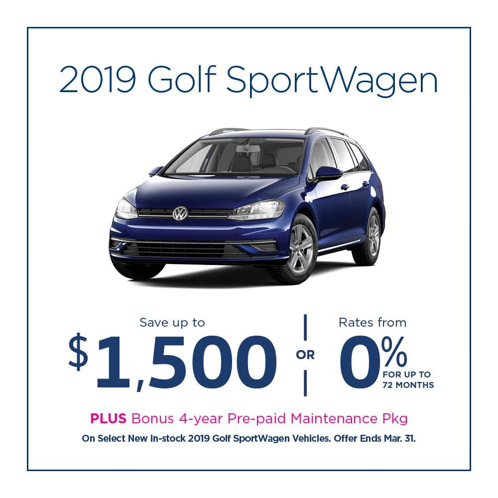 Golf SportWagen Offer