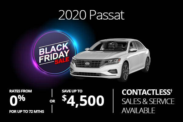 2020 Passat Black Friday Sale