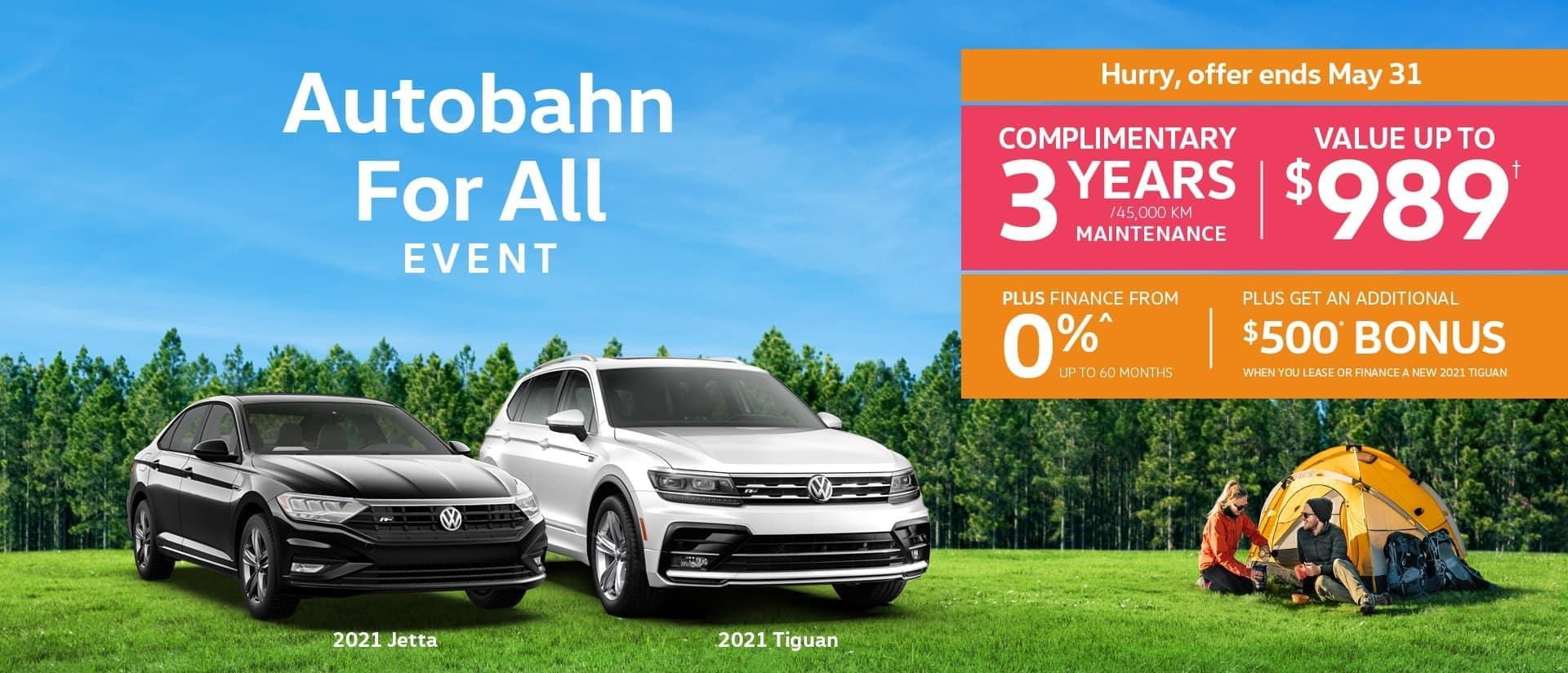 Auobahn for All Sale desktop banner