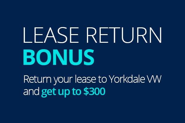 Lease Return Bonus